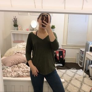 express army green tunic